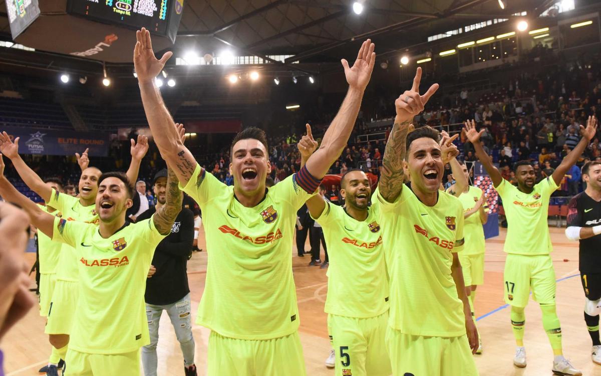 El Barça Lassa jugarà la seva sisena Final Four