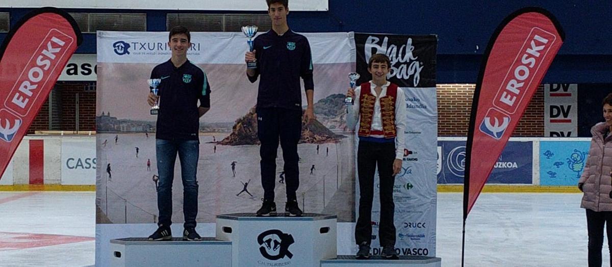El Barça suma dues medalles en l'Open de Guipúscoa