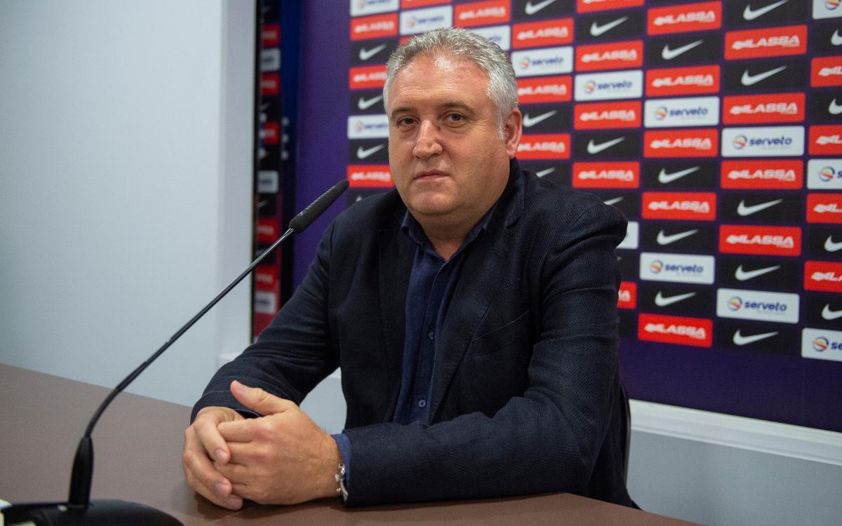 """Txus Lahoz: """"L'equip ha fet dues passes endavant"""""""