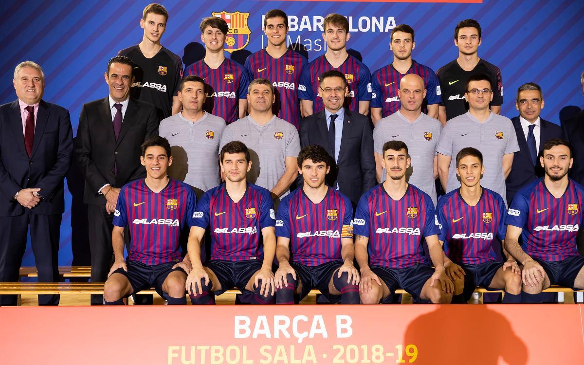 Barça B futsal 2018-19.jpg