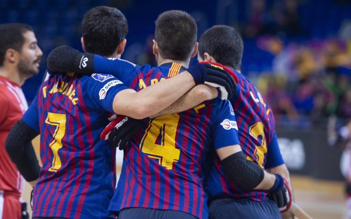 Barça Lassa - Citylift Girona: Premio a la insistencia azulgrana (3-0)