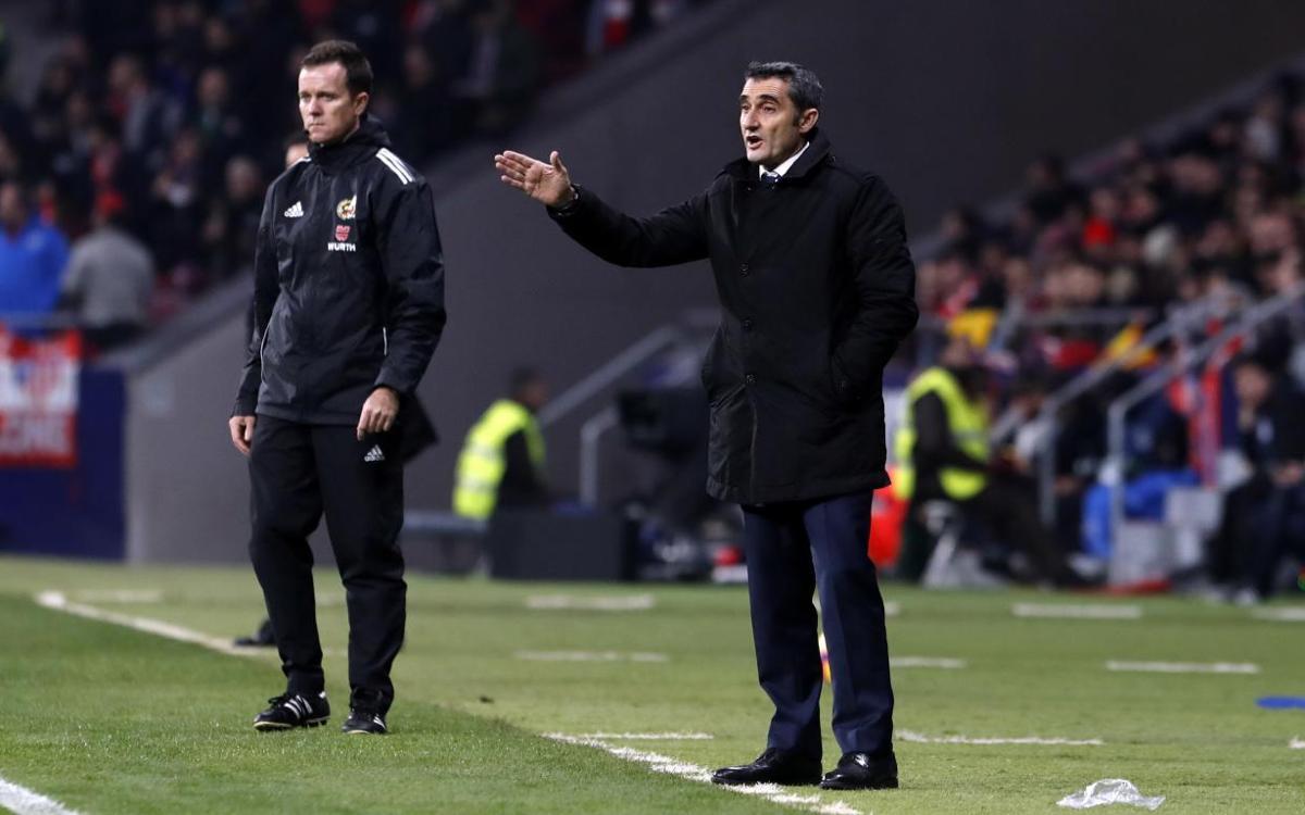 Ernesto Valverde: 'We lacked an offensive spark'