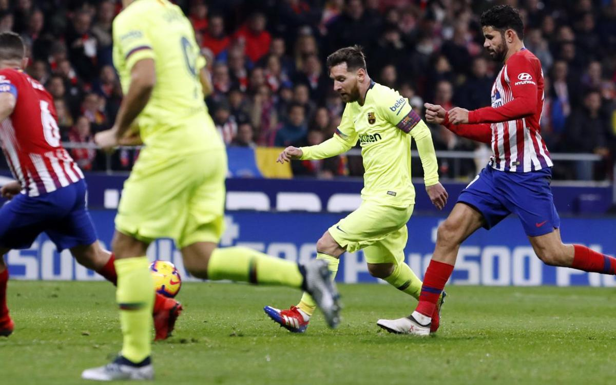 HIGHLIGHTS: Atlético Madrid v FC Barcelona