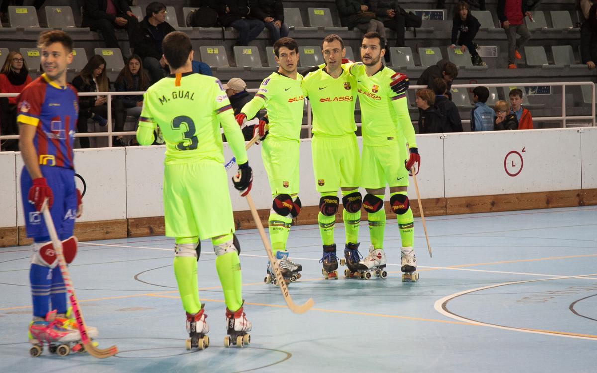 Paso Alcoy - Barça Lassa: A victory thanks to hard work (1-6)