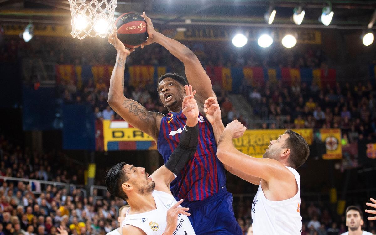 El rebot, una de les claus del bon moment del Barça Lassa