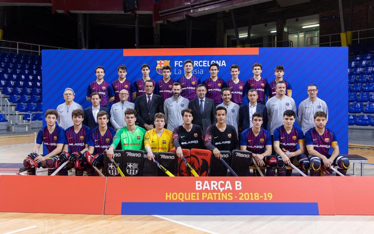 Barça B Hoquei 2018-19