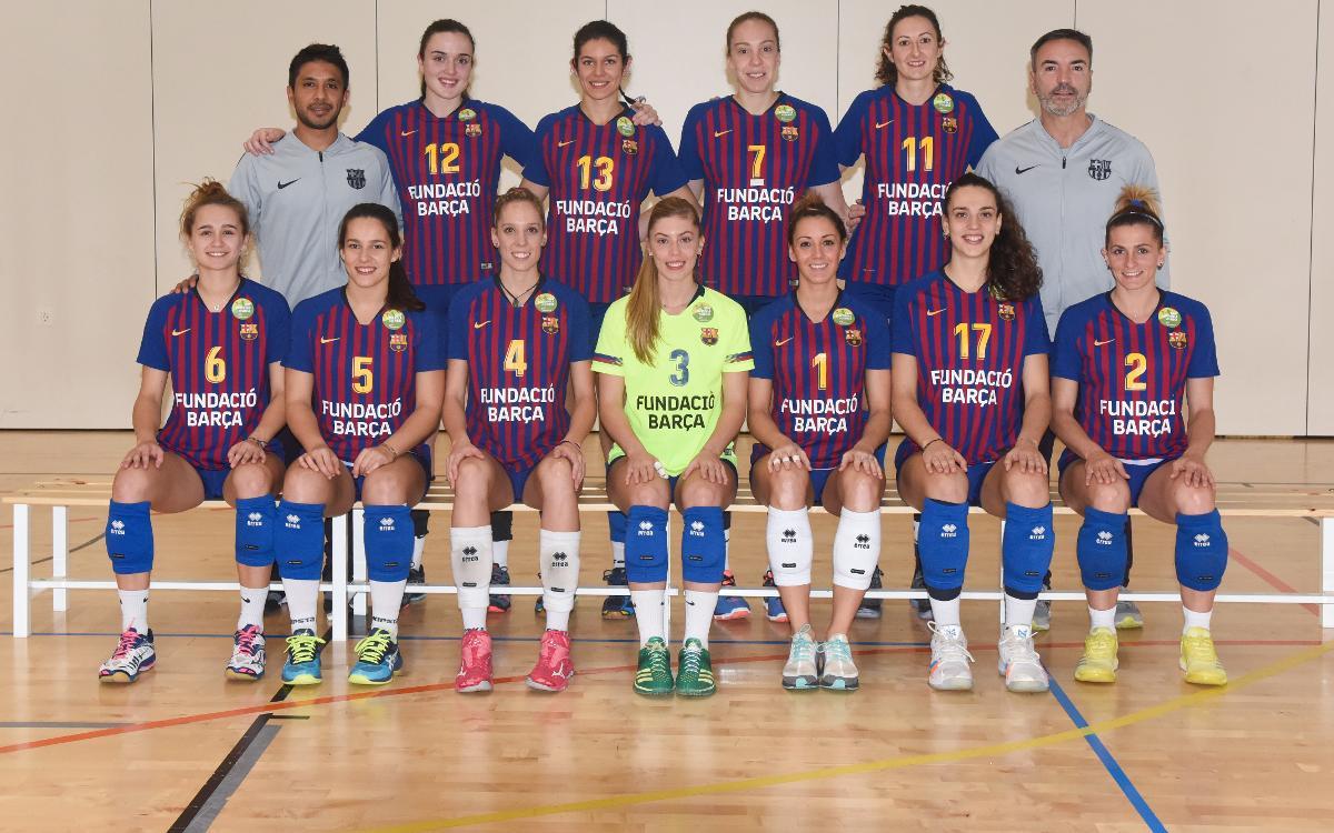 Plantilla Voleibol Femení 2018-2019
