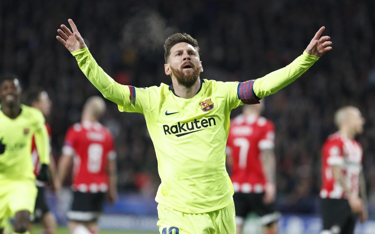 PSV Eindhoven - FC Barcelona: Victoria para asegurar la primera plaza (1-2)