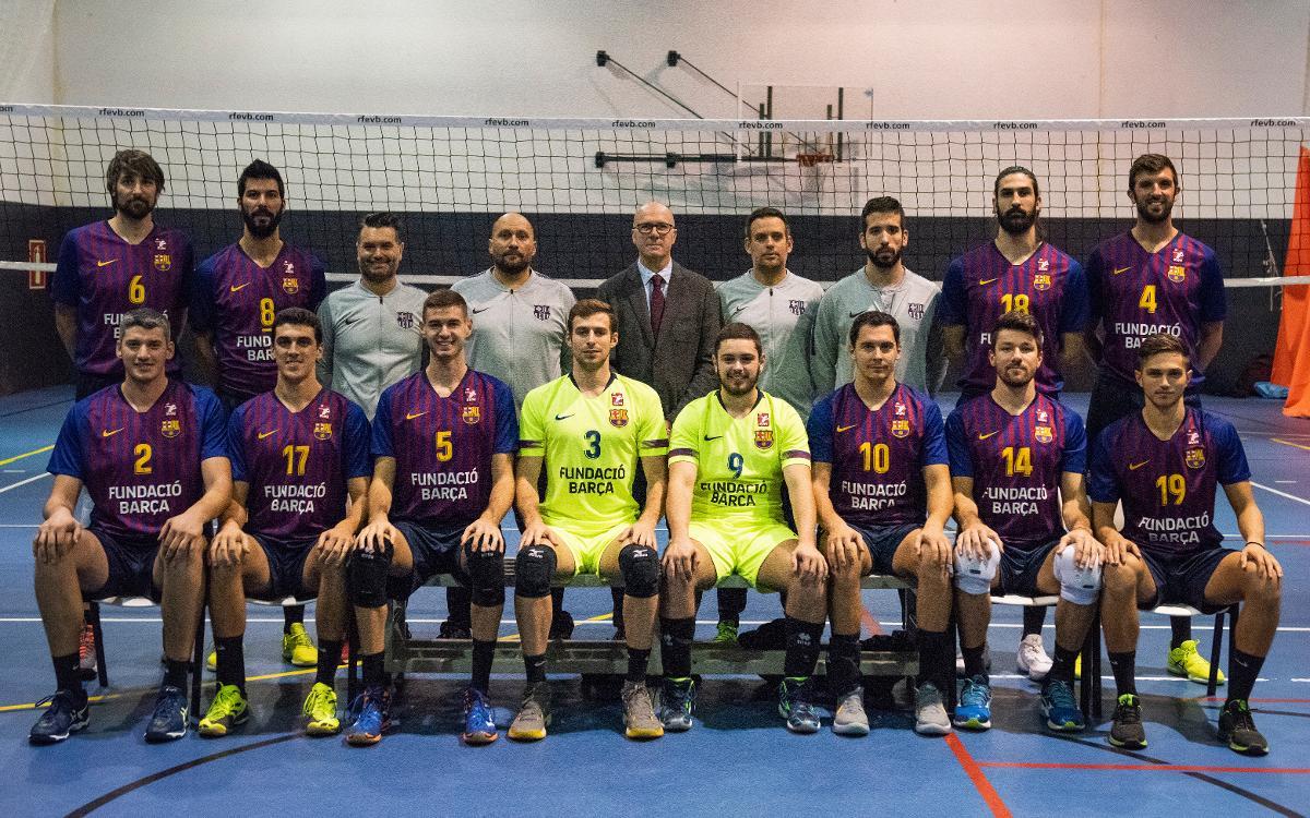Plantilla Voleibol Masculino 2018-2019