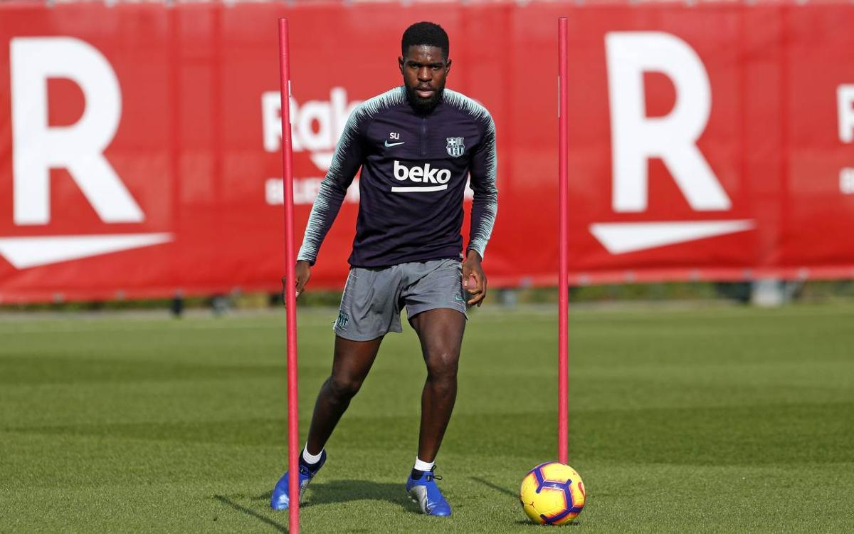 Umtiti to return on December 30