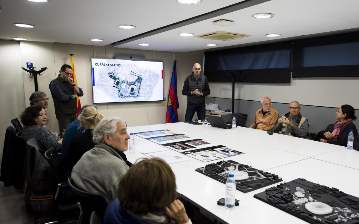 La Agrupación de Arquitectos Urbanistas de Catalunya pone en valor el proyecto del Espai Barça