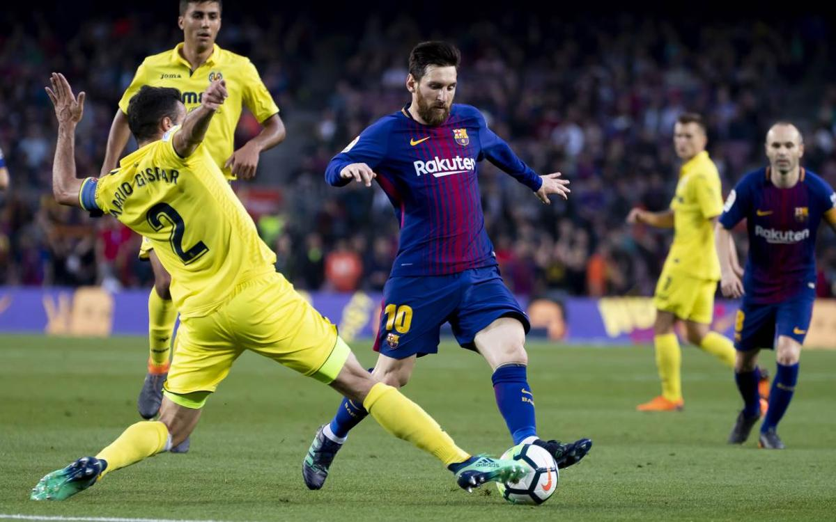 Leo Messi, Villarreal's nightmare