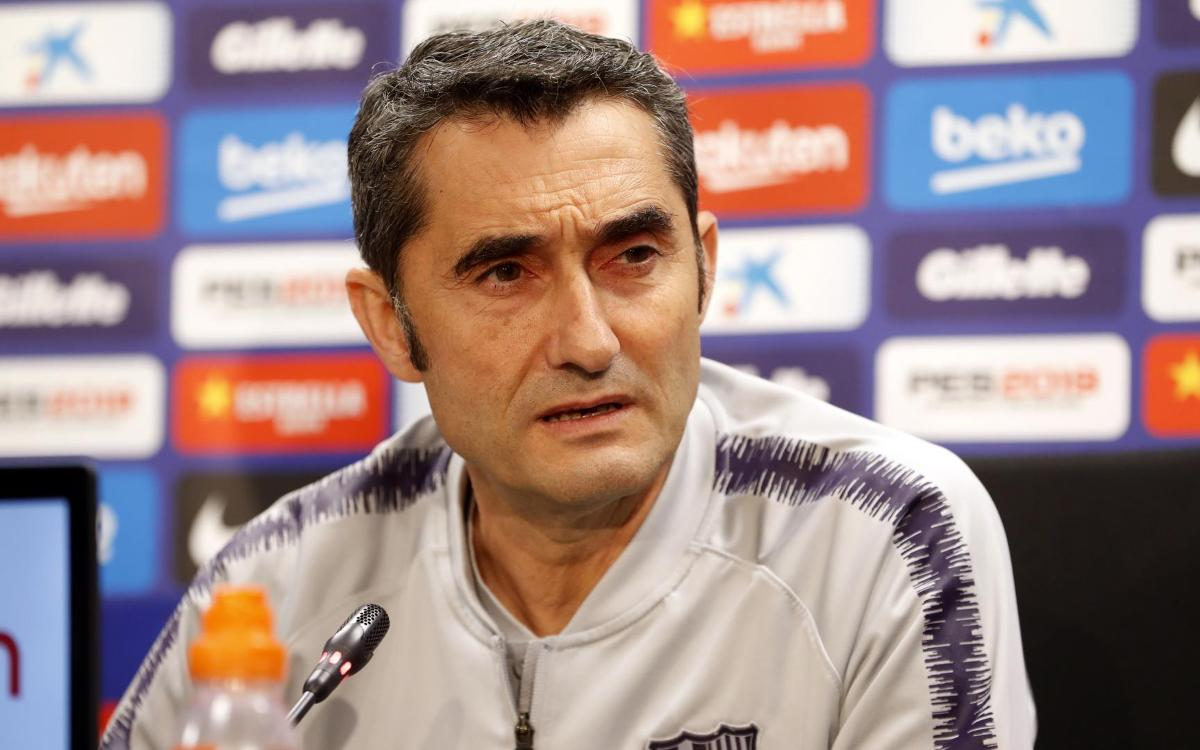 Ernesto Valverde quotes ahead of #BarçaVillarreal