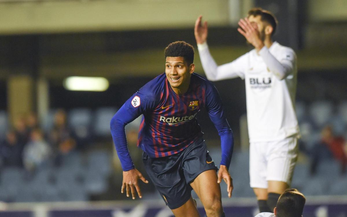 Barça B – Valencia Mestalla: Empate en el último suspiro (2-2)