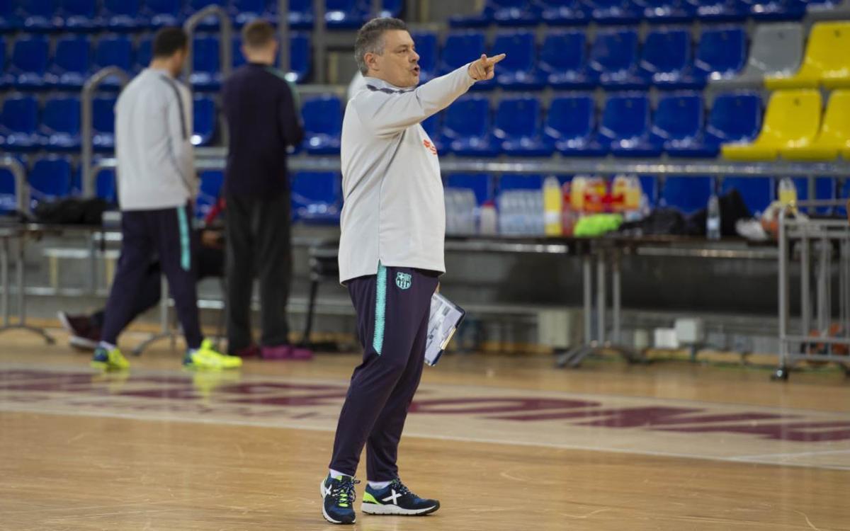 """Xavi Pascual: """"El Brest no està traient els resultats que mereix"""""""