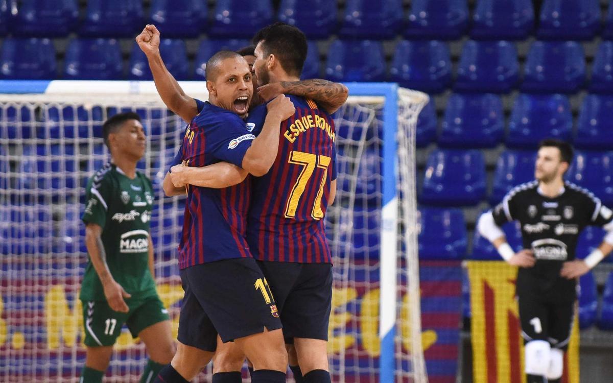 Barça Lassa – CA Osasuna Magna: Remuntada de caràcter (3-2)