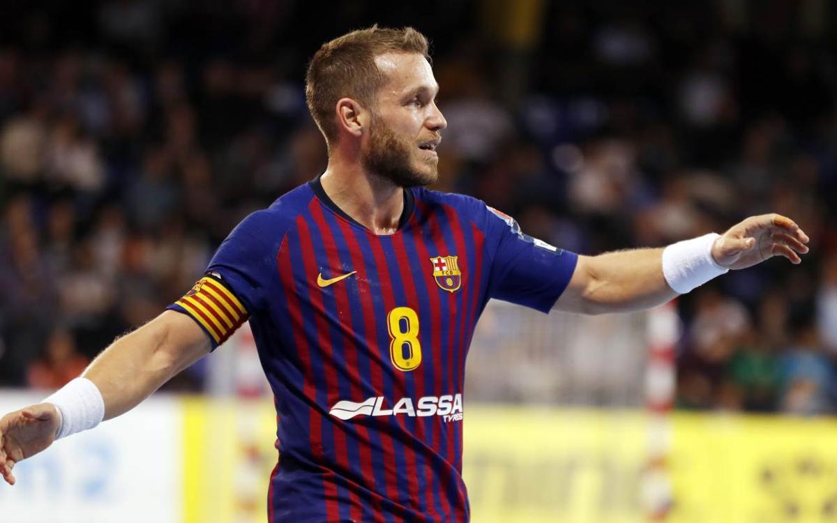 Barça Lassa – HC Meshkov Brest: Novena victòria consecutiva a Europa! (41-32)