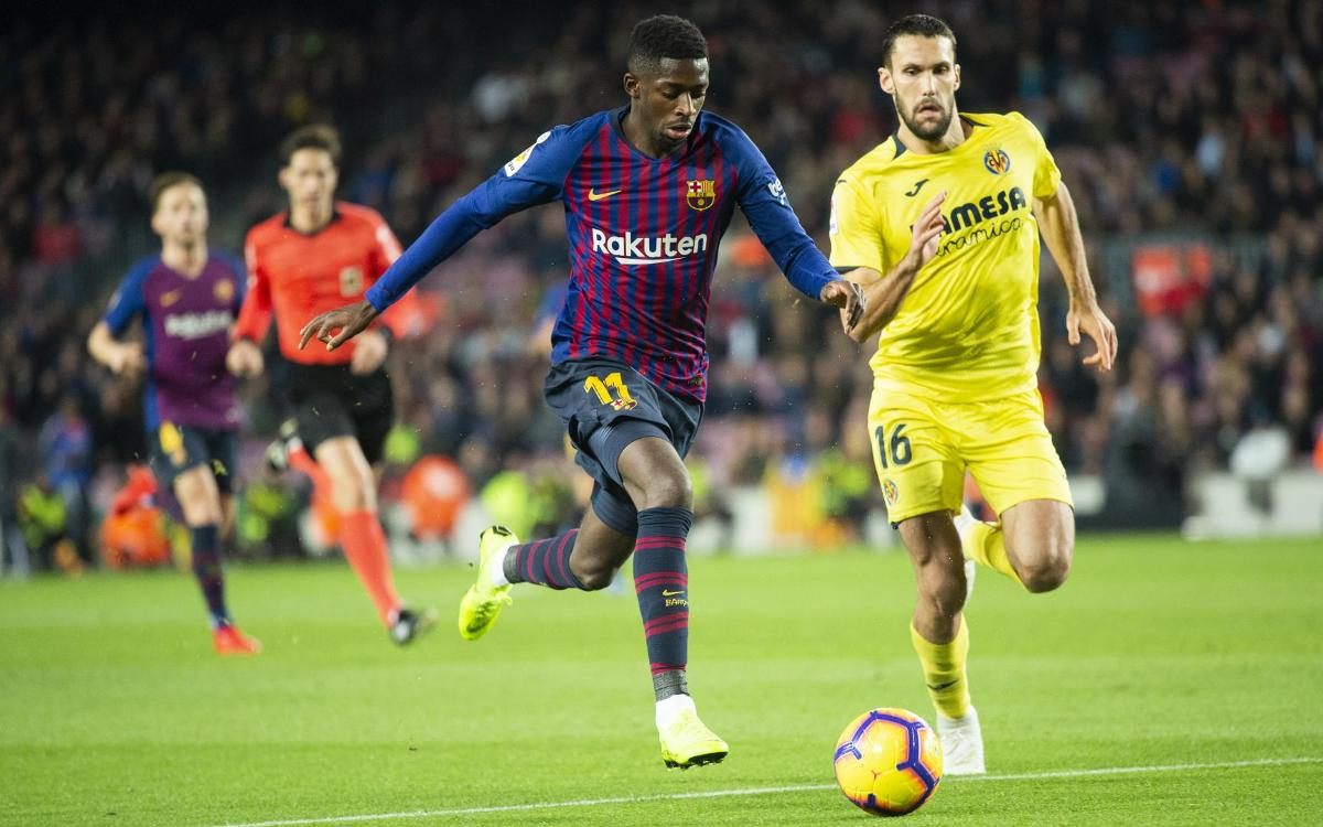 Dembélé's masterclass against Villarreal