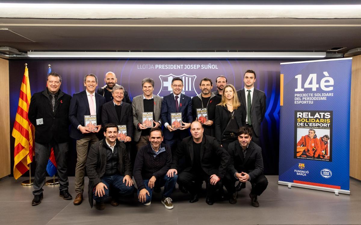 Valverde i Open Arms, protagonistes del 14è Projecte Solidari