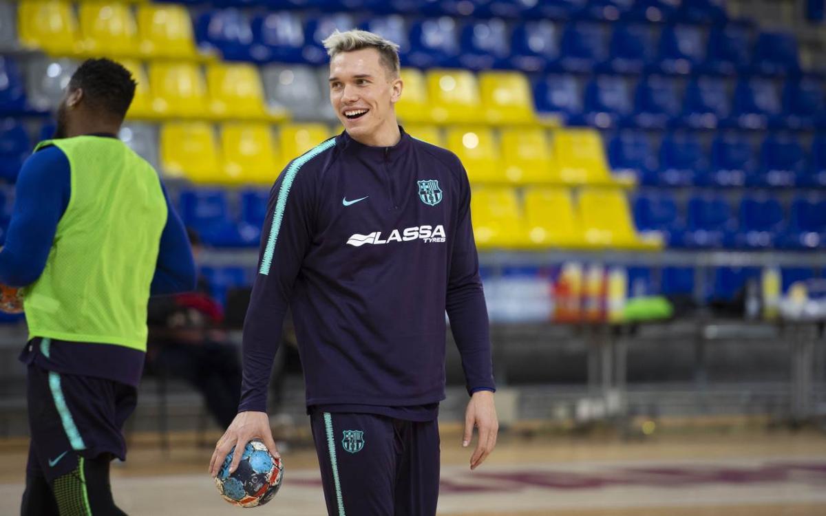 """Lasse Andersson: """"Hem de seguir així per arribar bé a la Copa Asobal"""""""