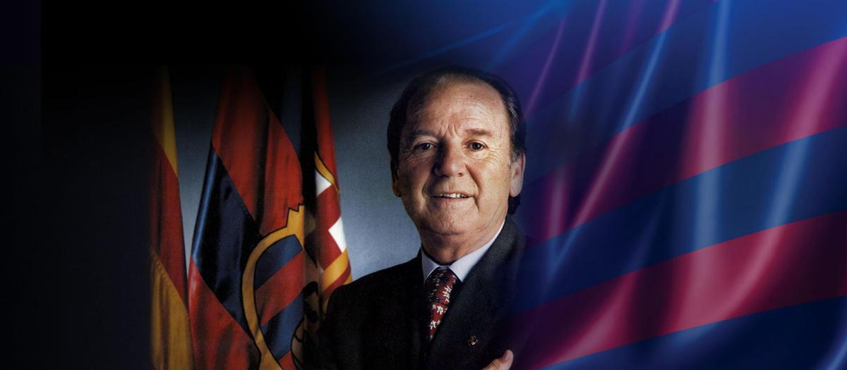Former president Josep Lluís Núñez passes away