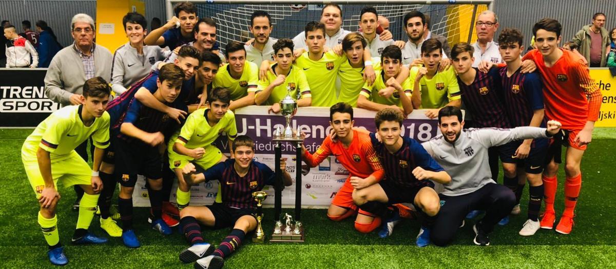 El Cadet B guanya la MTU Hallen Cup