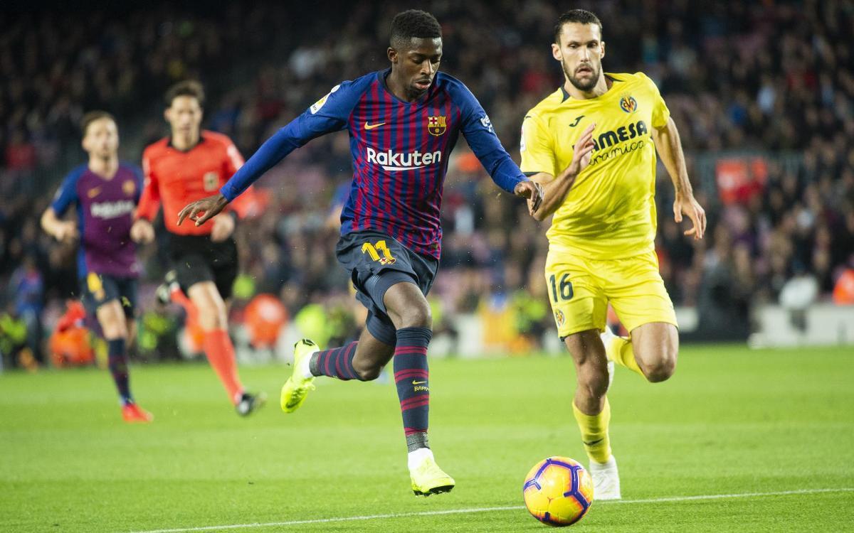 Le show de Dembélé contre Villarreal