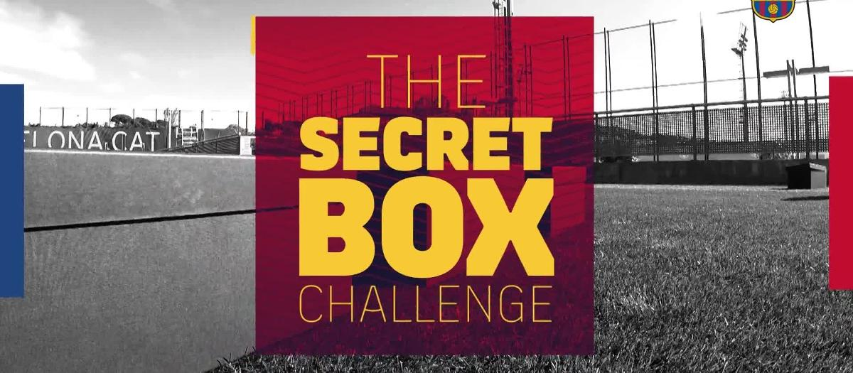 The Secret Box Challenge jugador del primer equip, Carles Aleñá 2018/2019
