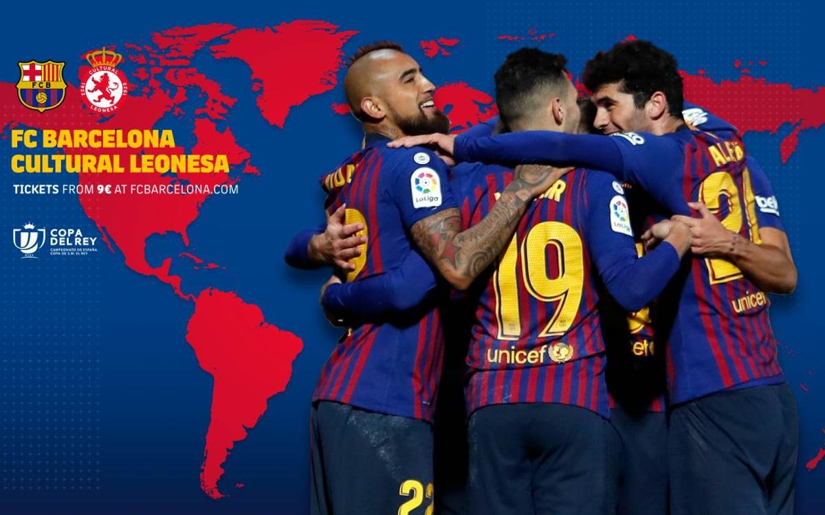 When and where to watch FC Barcelona – Cultural Leonesa