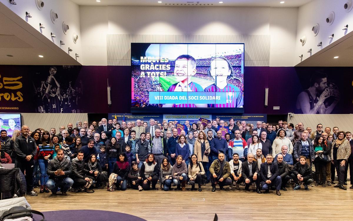 Agraïment entitats col·laboradores Diada Solidària 2018