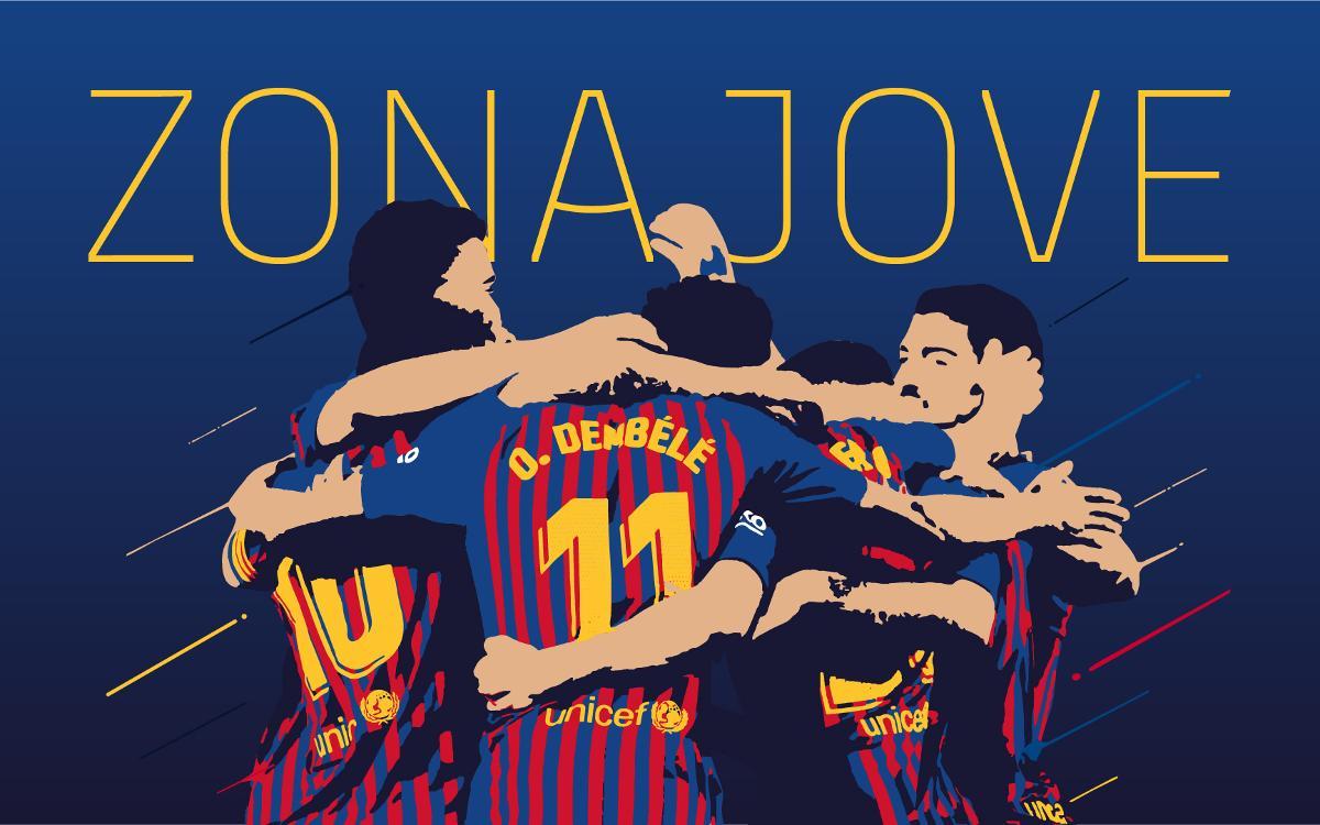 Benvingut a la Zona Jove del FC Barcelona!