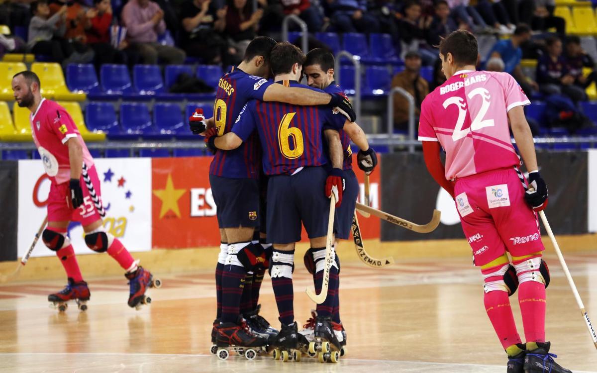 Barça Lassa – Igualada Rigat: Victòria per seguir líders! (7-2)