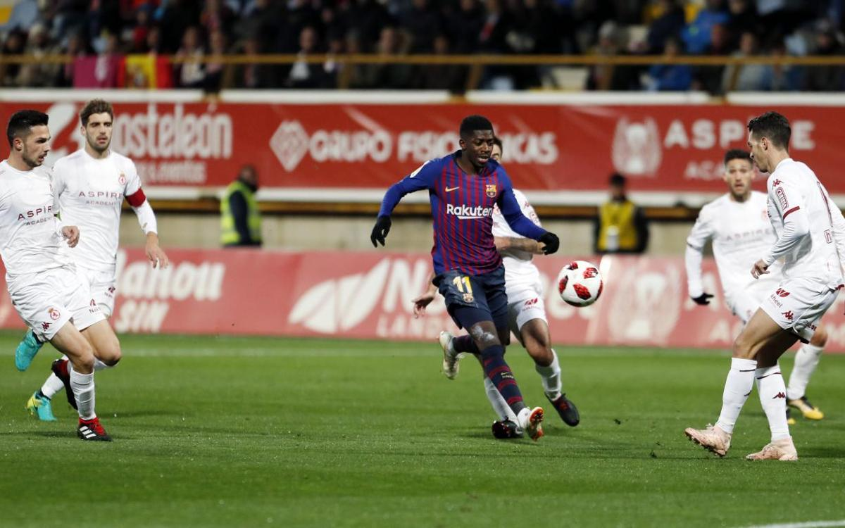 Avant-match : FC Barcelone - Cultural Leonesa : Finir le travail