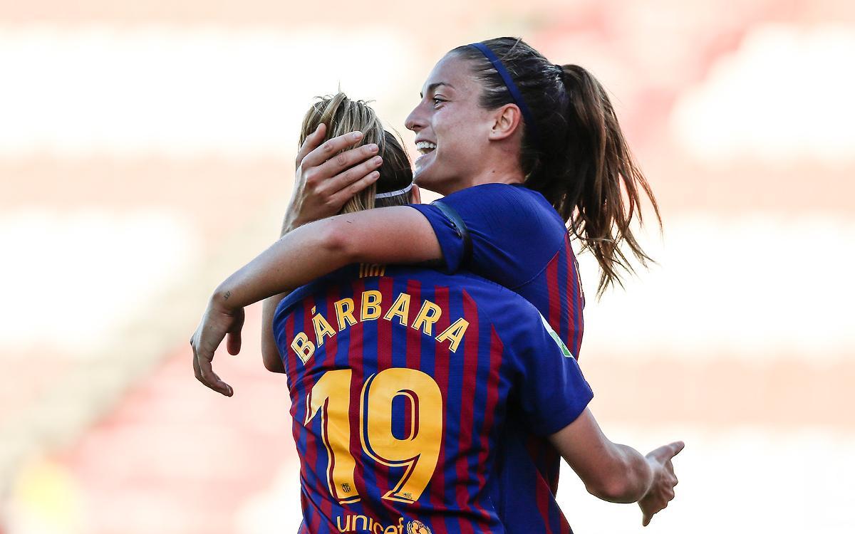 Sevilla FC – FC Barcelona: Un doblet d'Alexia per sumar el triomf (0-2)