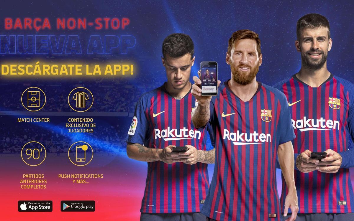El FC Barcelona estrena web y app ba46ba33c9f