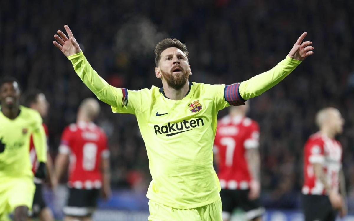 Messi, mejor delantero del mundo según ESPN