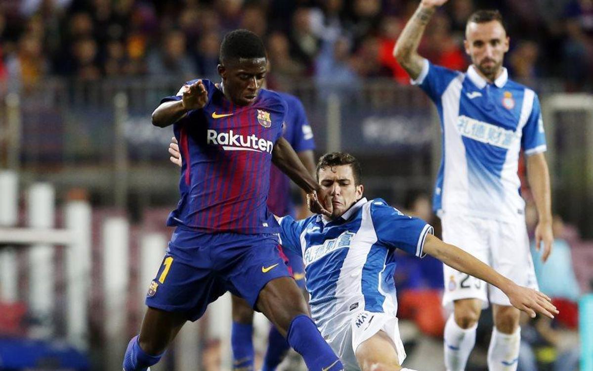 Ousmane Dembélé débute avec le FC Barcelone par une passe décisive