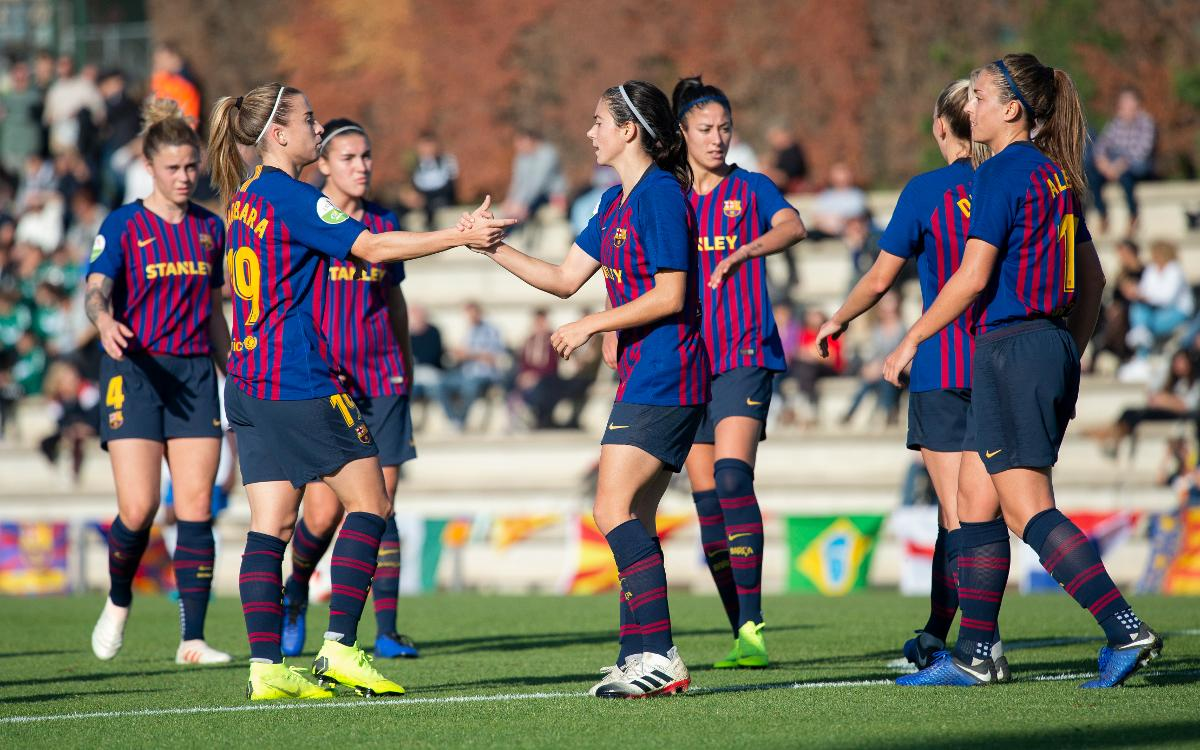 FC Barcelona Femenino - Madrid CFF (Previa): Objetivo nueve de nueve