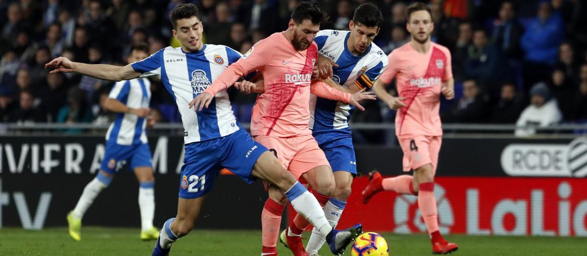 Voici comment Messi a illuminé le derby