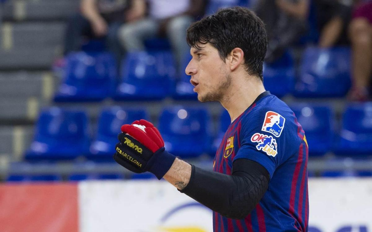 CH Lloret Vila Esportiu – Barça Lassa: Victoria para reafirmar el liderato (1-3)