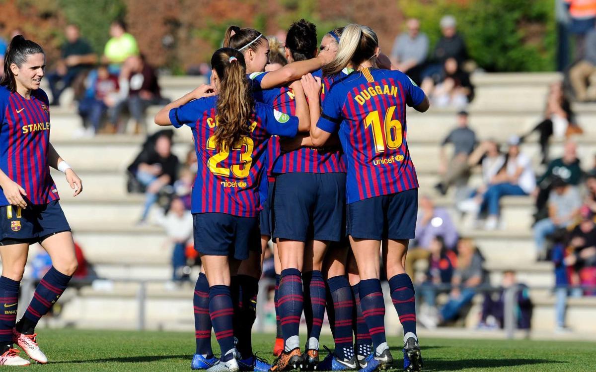 FC Barcelona 7 – 0 Madrid CFF: Deluge of goals