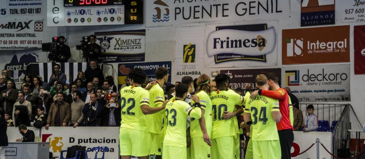Puente Genil – Barça Lassa: A festival of goals to remain undefeated (28-46)