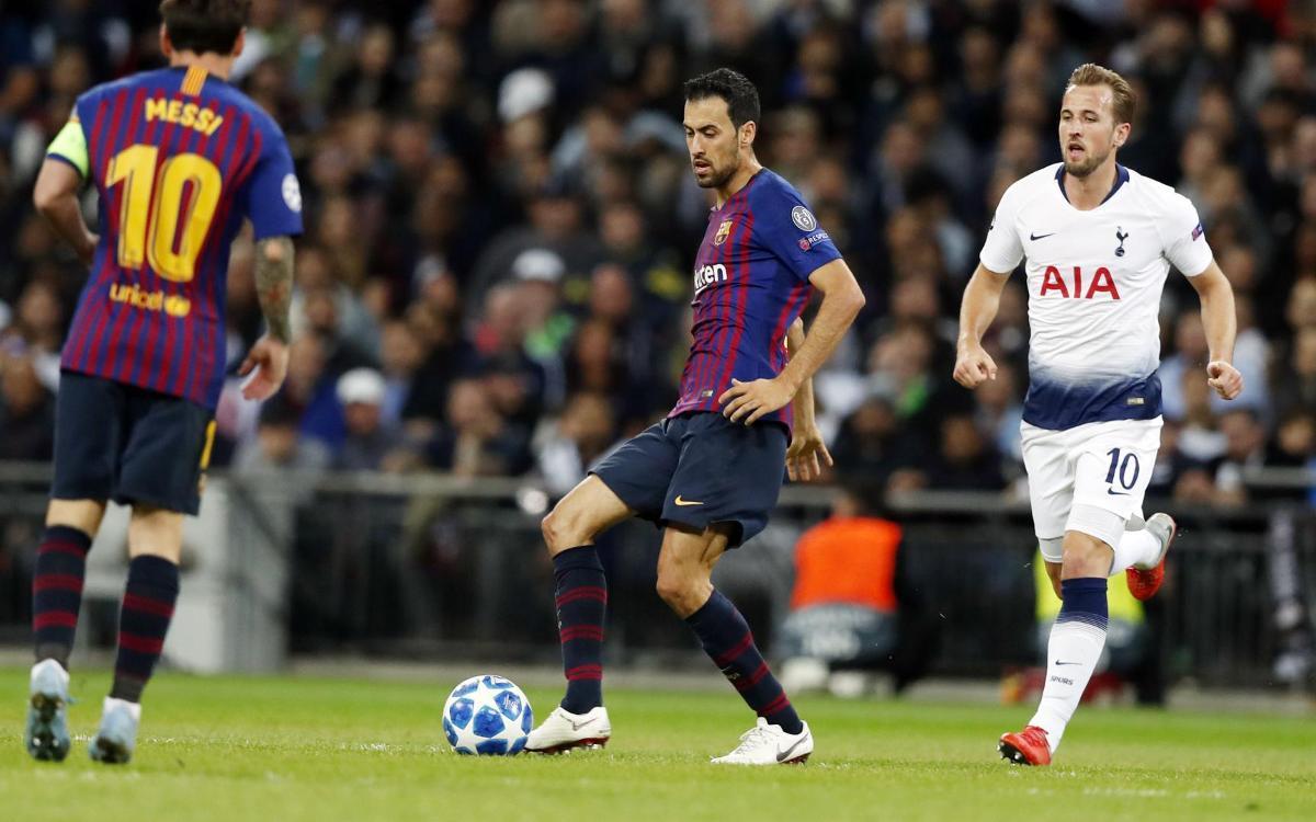 Cuándo y dónde ver el FC Barcelona - Tottenham Hotspur