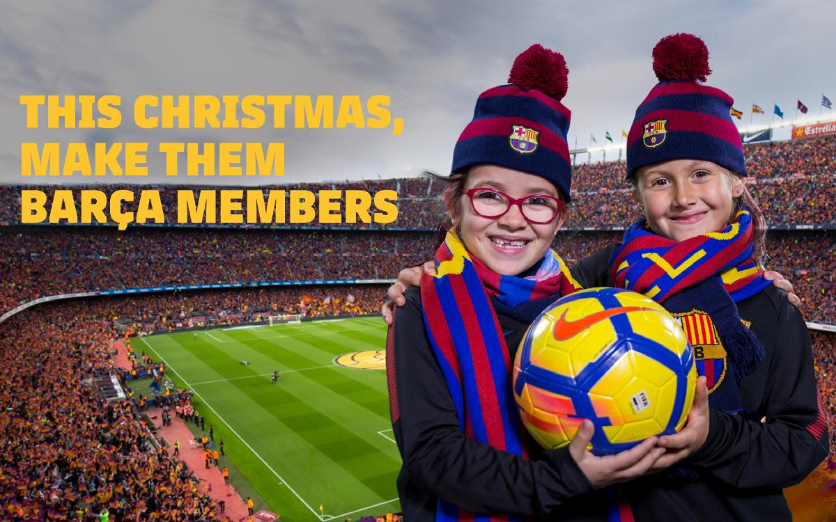 Free Christmas membership for children from 0 to 5