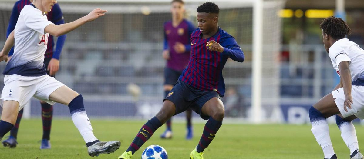 UEFA Youth League: FC Barcelona 0-2 Tottenham