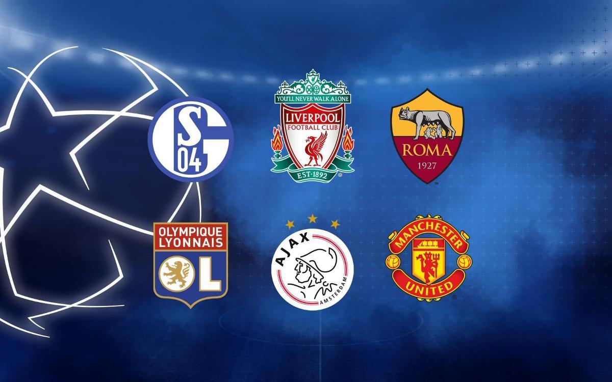 Els sis possibles rivals als vuitens de la Champions