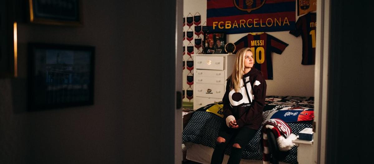 Lindsay Horan tells her Barça anecdotes in The Players' Tribune