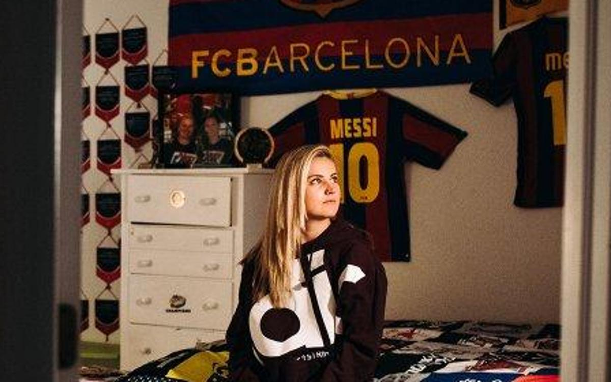 the best attitude ec5f1 903fd Lindsay Horan tells her Barça anecdotes in The Players' Tribune