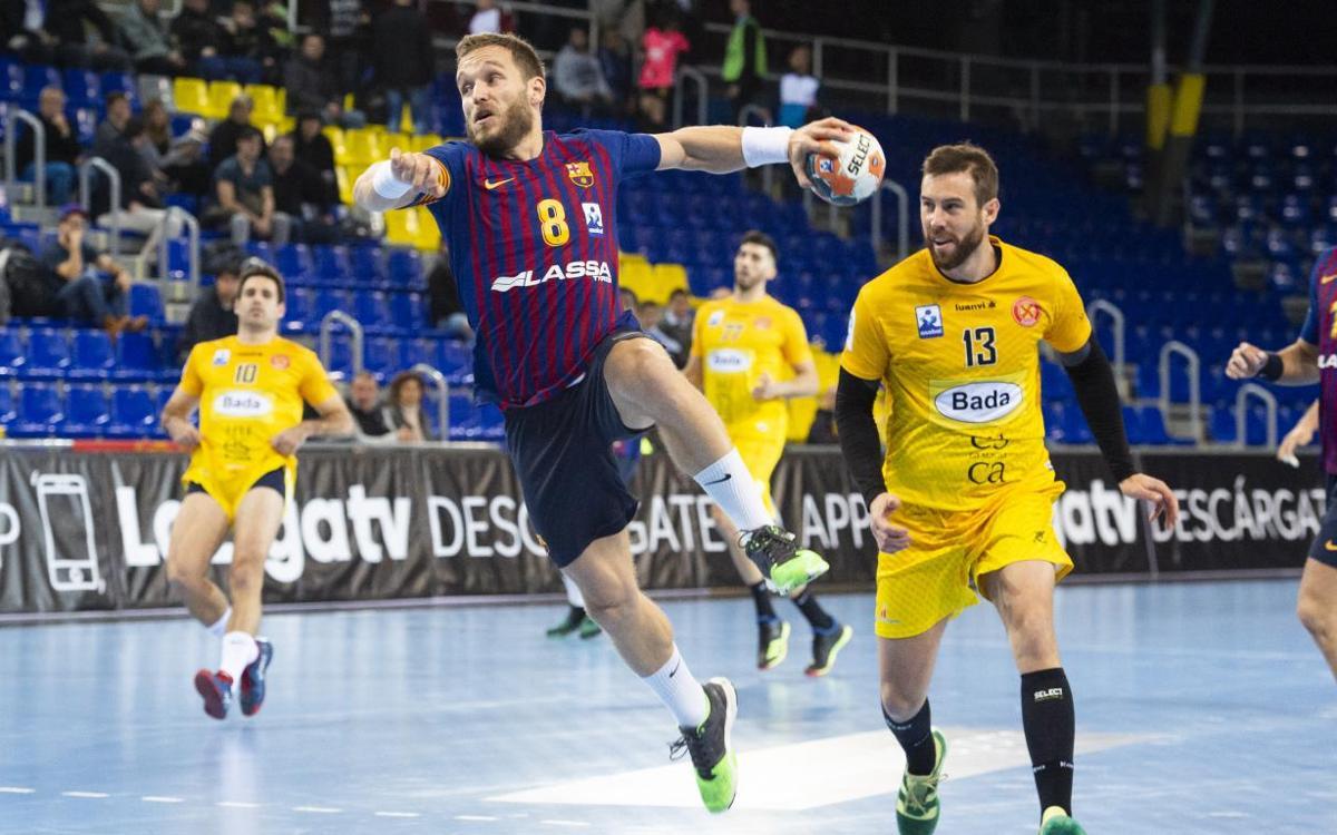 Barça Lassa – Bada Huesca: En plena forma a la Copa Asobal (39-23)