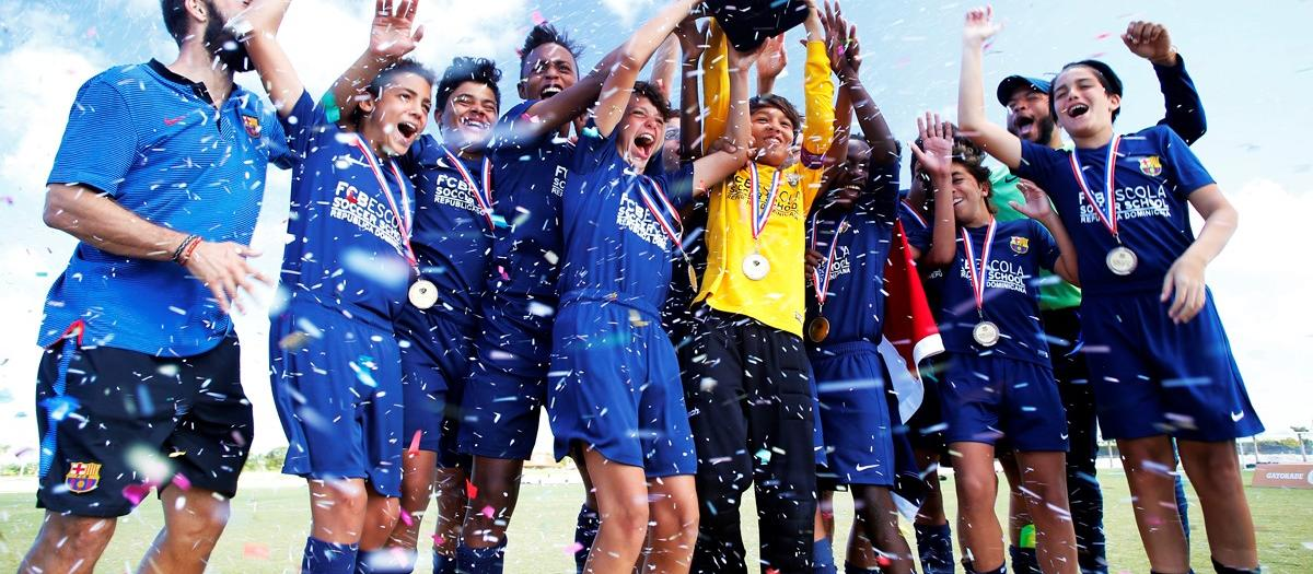 Belletti, padrí del Torneig Barça Academy Las Américas Cup més gran de la història